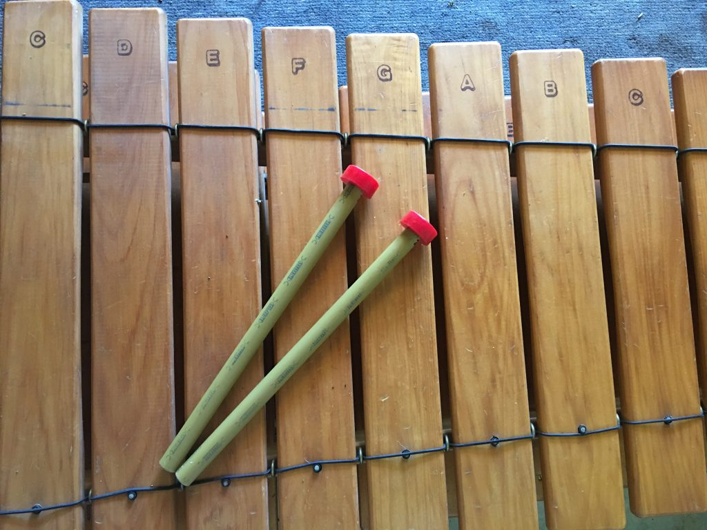 Hitty Hitty Bang Bang Marimba workshops for schools